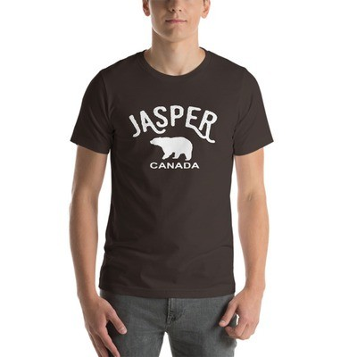Jasper Bear Alberta Canada - T-Shirt (Multi Colors) The Rockies Canadian Rocky Mountains