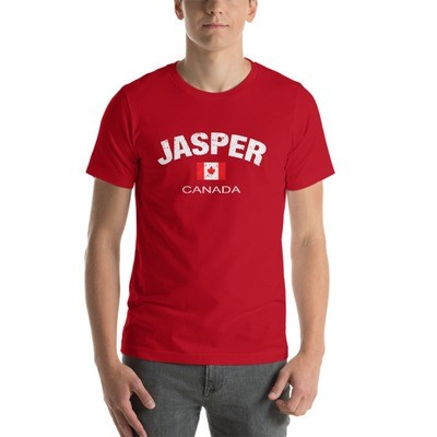 Jasper Alberta Canada - T-Shirt (Multi Colors) The Rockies Canadian Rocky Mountains