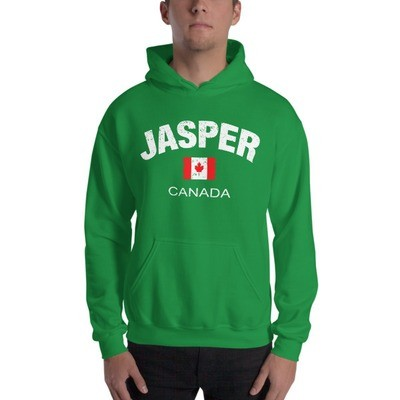 Jasper Alberta Canada - Hooded Sweatshirt (Multi Colors) The Rockies Canadian Rocky Mountains