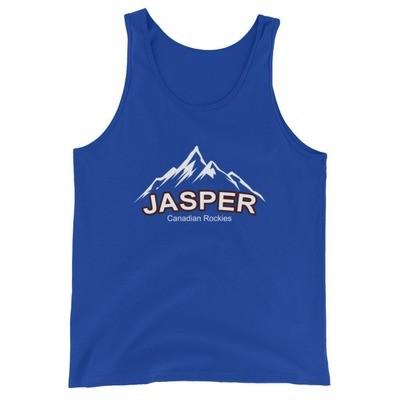 Jasper Mountain Alberta Canada - Tank Top (Multi Colors) The Rockies Canadian Rocky Mountains