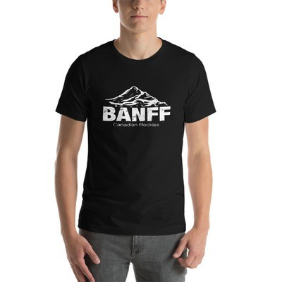 Banff Mountain Alberta Canada - T-Shirt (Multi Colors) The Rockies Canadian Rocky Mountains