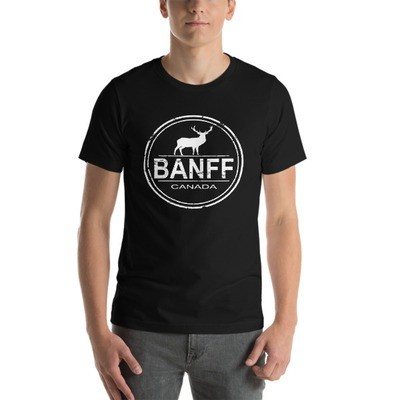 Banff Alberta Canada - T-Shirt (Multi Colors) The Rockies Canadian Rocky Mountains