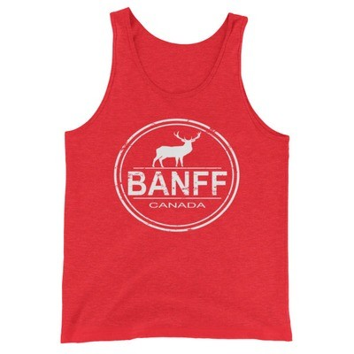 Banff Alberta Canada - Tank Top (Multi Colors) The Rockies Canadian Rocky Mountains