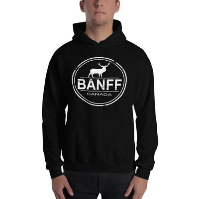 Banff Alberta Canada - Hooded Sweatshirt (Multi Colors) The Rockies Canadian Rocky Mountains