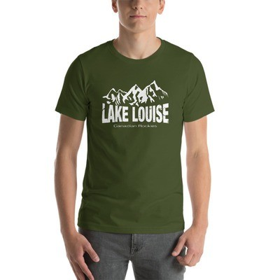 Lake Louise Alberta Canada - T-Shirt (Multi Colors) The Rockies Canadian Rocky Mountains