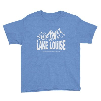 Lake Louise Alberta Canada - Youth T-Shirt (Multi Colors) The Rockies Canadian Rocky Mountains