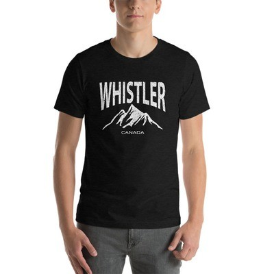 Whistler British Columbia Canada - T-Shirt (Multi Colors) The Rockies Canadian Rocky Mountains