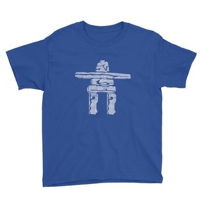 Inukshuk - Youth T-Shirt (Multi Colors)