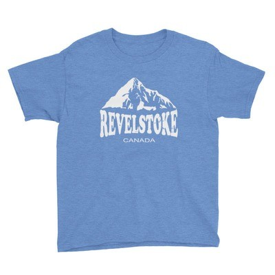 Revelstoke British Columbia - T-Shirt (Multi Colors) The Rockies Canadian Rocky Mountains