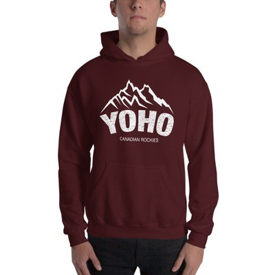 Yoho British Columbia Canada - Hooded Sweatshirt (Multi Colors) The Rockies Canadian Rocky Mountains
