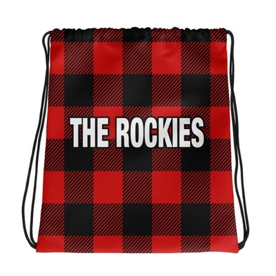 Lumber Jack Plaid - Drawstring bag