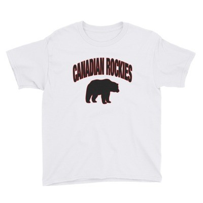 Canadian Rockies - Youth T-Shirt (Multi Colors)