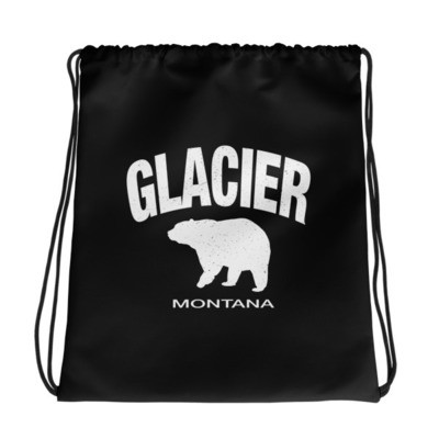 Glacier Montana USA - Drawstring bag - The Rockies American Rockies The Rocky Mountains