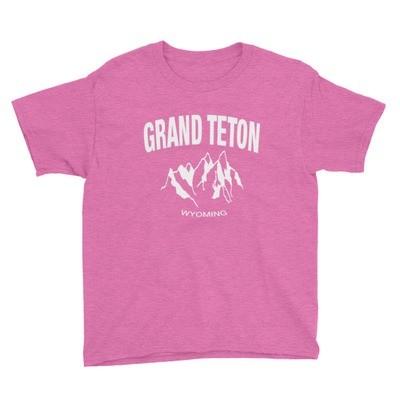 Grand Teton - Youth T-Shirt (Multi Colors)