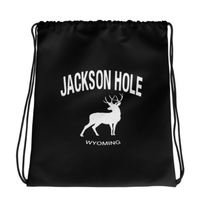 Jackson Hole Wyoming USA - Drawstring bag - The Rockies American Rockies The Rocky Mountains