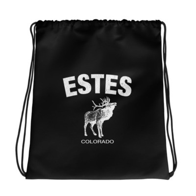 Estes Colorado USA - Drawstring bag - The Rockies American Rockies The Rocky Mountains