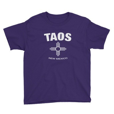 Taos New Mexico USA - Youth T-Shirt (Multi Colors) The Rockies American Rocky Mountains