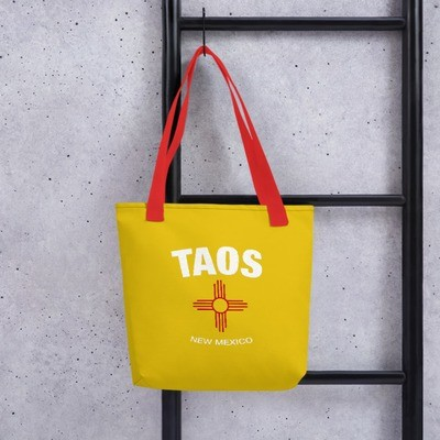Taos New Mexico USA - Tote bag - The Rockies American Rocky Mountains