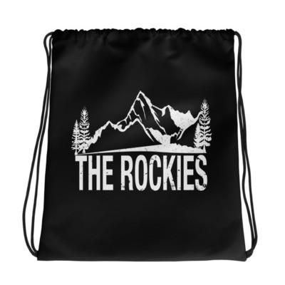 The Rockies - Drawstring bag