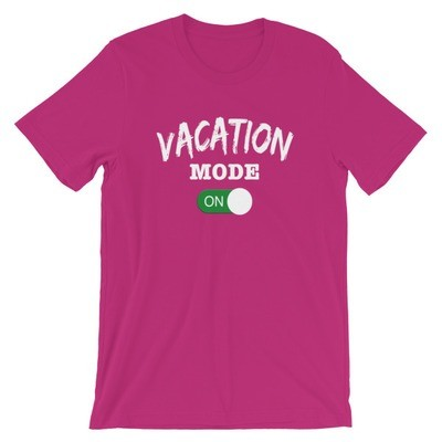 Vacation Mode - T-Shirt (Multi Colors)