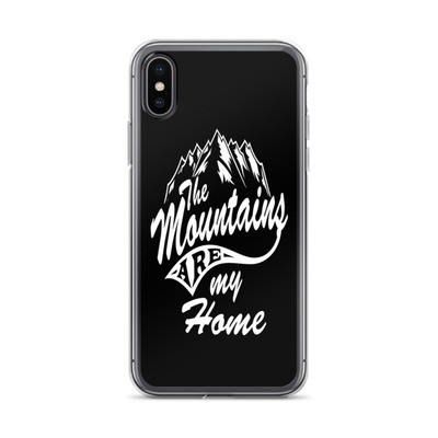 Mountains Are My Home - iPhone Case