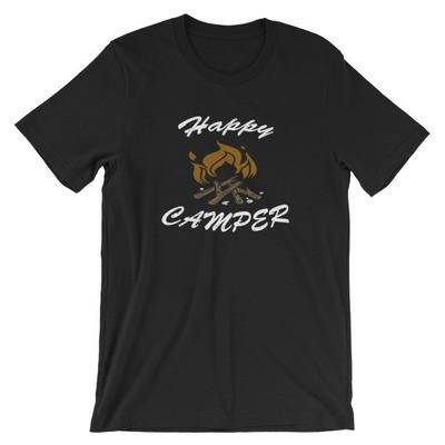 Happy Camper - T-Shirt (Multi Colors)