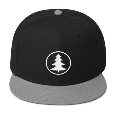 Pine Tree - Snapback Hat (Multi Colors) The Rocky Mountains Canadian American Rockies