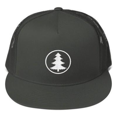 Pine Tree - Mesh Back Snapback