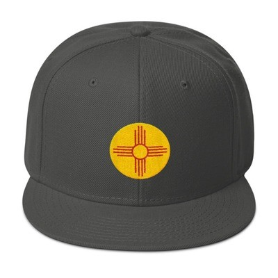Taos New Mexico USA - Snapback Hat (Multi Colors) The Rockies American Rocky Mountains