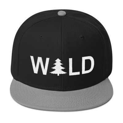 Wild - Snapback Hat (Multi Colors) The Rocky Mountains Canadian American Rockies