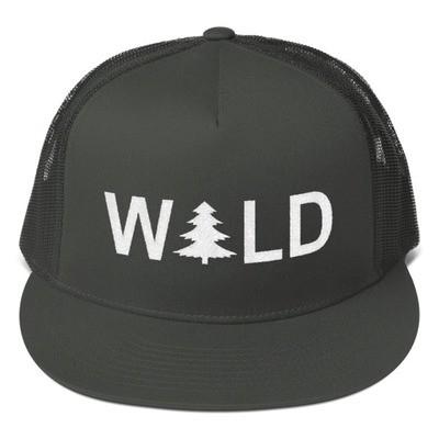 Wild - Mesh Back Snapback