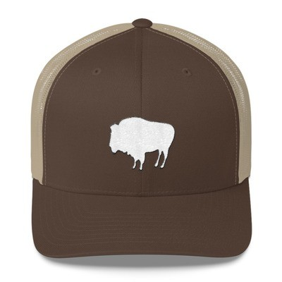 Bison - Trucker Cap (Multi Colors) The Rocky Mountains Canadian American Rockies