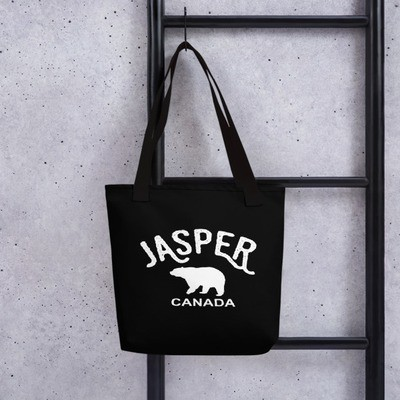 Jasper Bear Alberta Canada - Tote bag The Rockies Canadian Rocky Mountains