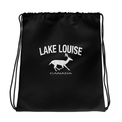 Lake Louise Alberta Canada - Drawstring bag - The Rockies Canadian Rockies Canadian Rocky Mountains