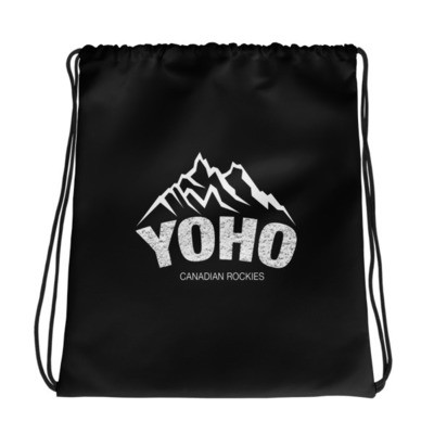 Yoho British Columbia Canada - Drawstring bag - The Rockies Canadian Rockies Canadian Rocky Mountains