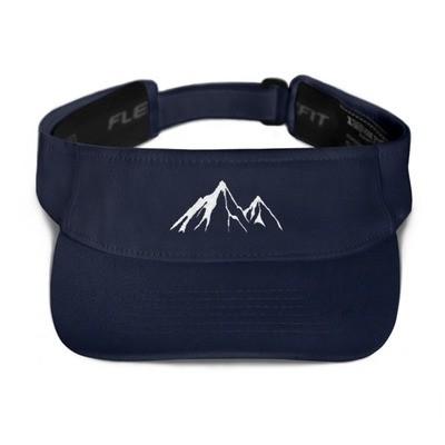 Mountain Peaks - Visor (Multi Colors)
