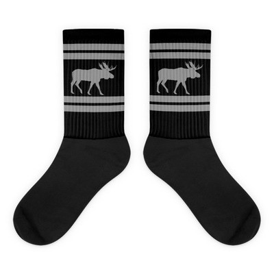 Elk Print - Socks