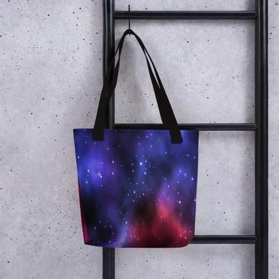 Galaxy Print - Tote bag