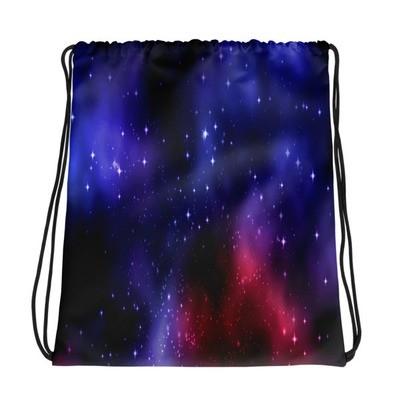 Galaxy Print - Drawstring bag