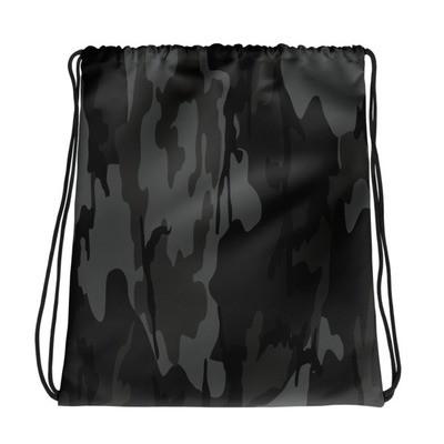Camo Print - Drawstring bag