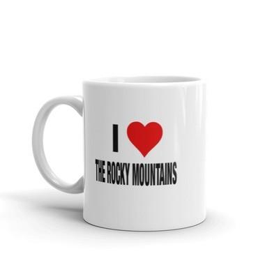 I LOVE THE ROCKY MOUNTAINS - Mug