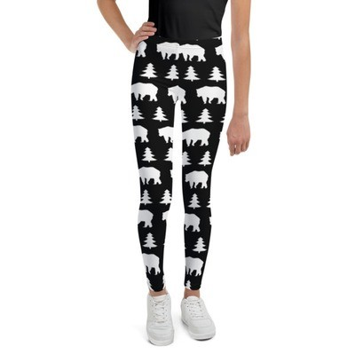 Bears & Pines - Youth Leggings