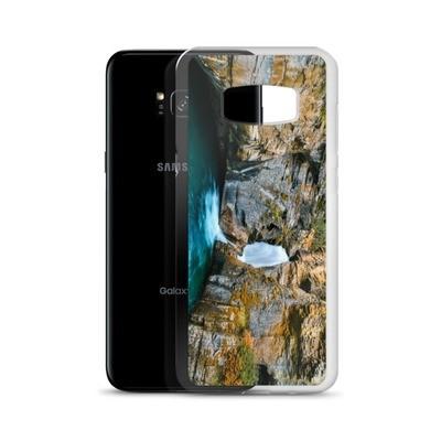 Samsung Case - Johnston Falls Banff Alberta Canada - The Rockies Canadian Rockies Canadian Rocky Mountains