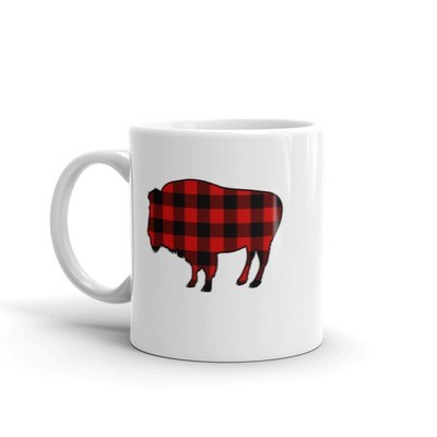Plaid Bison - Mug
