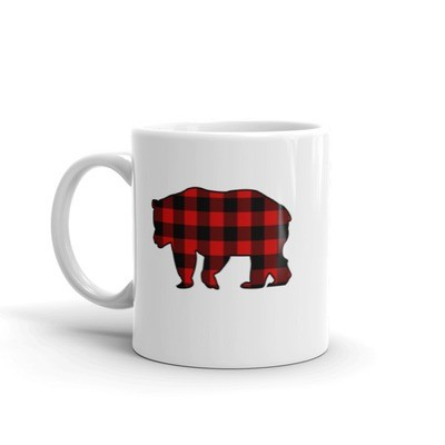 Plaid Bear - Mug