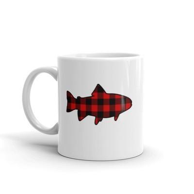 Plaid Fish - Mug