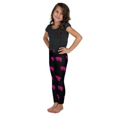 Bear Print - Kids Leggings