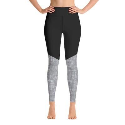 Grey & Black - Sport Leggings