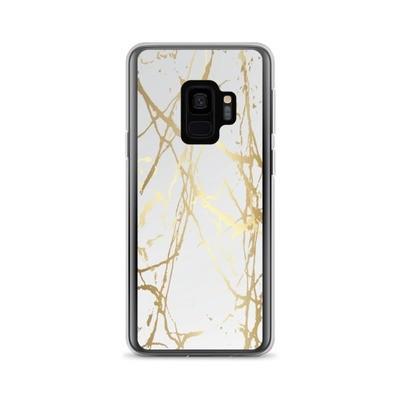 Gold Marble Print - Samsung Case