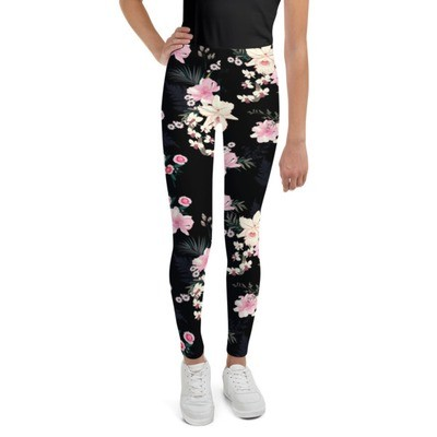 Floral - Youth Leggings